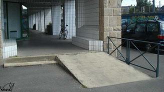Skate à Rennes, le Colombier