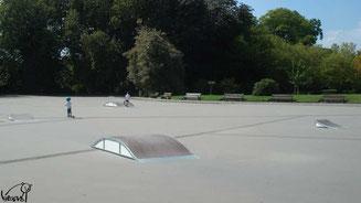 Skate à Rennes, minipark de Maurepas