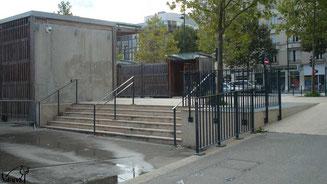 Skate à Rennes, Bench avenue