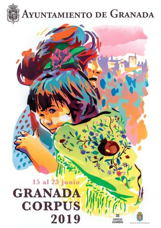 Fiestas en Granada Feria del Corpus