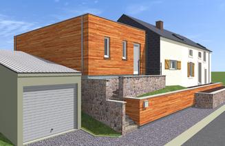 Responsable PEB - extension et transformation d'une maison à Marneffe - PrismEco