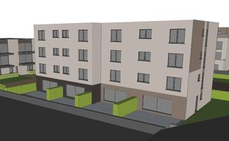 Etude de faisabilité PEB > 1000m2 - trois immeubles à appartements à Flémalle - PrismEco