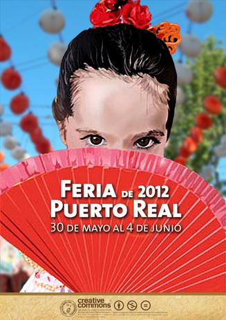 Cartel Feria de Puerto Real