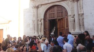 Italien Hochzeit Reis