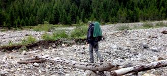 Alpenüberquerung E5 Via Alpina alleine Mann Jugendliche