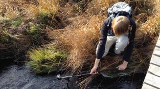 Fotografieren Action-Cam Handstativ Wanderstab Wasser