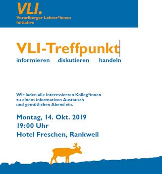 Einladung zum VLI-Treffpunkt Bild:Georg Vith/Gerhard Pušnik