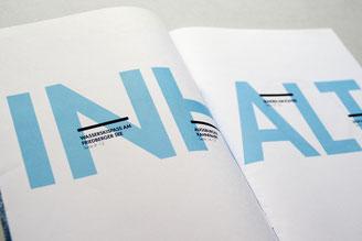 Editorial design, Augsburg, Magazin, magazine, typography, Typografie