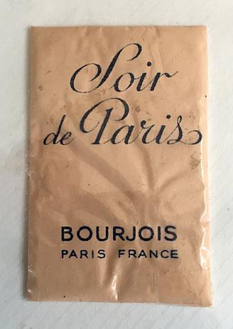BOURJOIS - SOIR DE PARIS : SACHET ECHANTILLON DE POUDRE DE RIZ