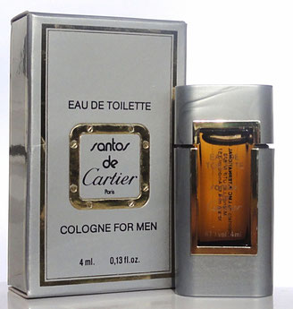 SANTOS - EAU DE TOILETTE, COLOGNE FOR MEN 4 ML