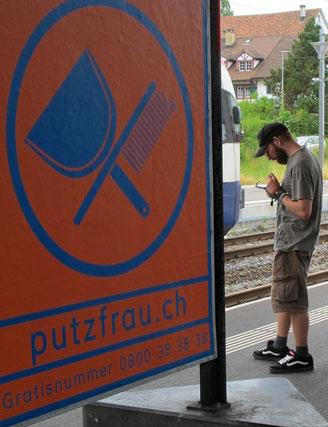 Handy, Bahnhof, Inserat