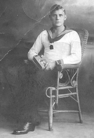 Heinrich Beutel beim Sanitätsdienst
