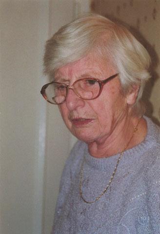 Frau Theresia Hinz - Quelle Familie Raschdorf