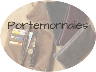 Portemonnaies aus Leder in Upcycling
