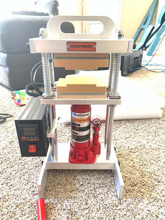 3 Ton Starter Rosin Press