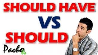 Modal Should vs Should Have