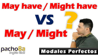 Modal May - Might y modales perfectos May have -Might have