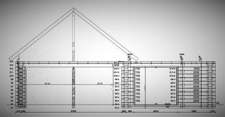 Detaillierte Anweisungen - Schnittzeichnungen - Elektrokabel - Haustechnik - Montageanleitung