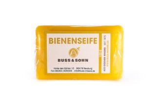 Handseife, Bienenseife, Bienenwachs, Imkerei Buss