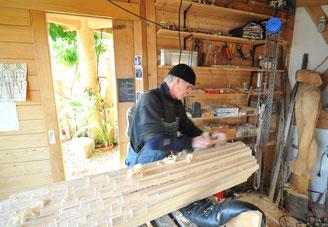 Erwin Götz Holz-Bildhauer