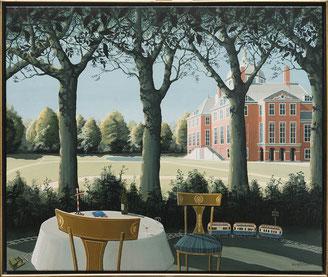 Schilderij Huis ten Bosch