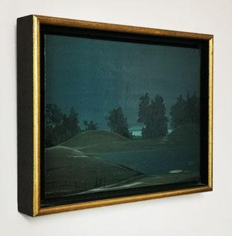 Tram schilderij door Joop Polder