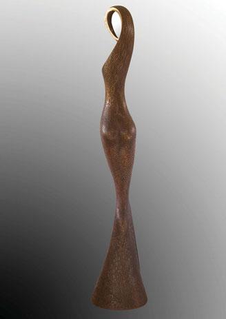 l'Essentiel bronze sculpture Jean-Louis Landraud