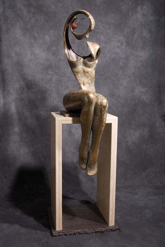 bronze sculpture by Jean-Louis Landraud