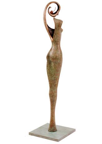 Eve, bronze sculpture by Jean-Louis Landraud
