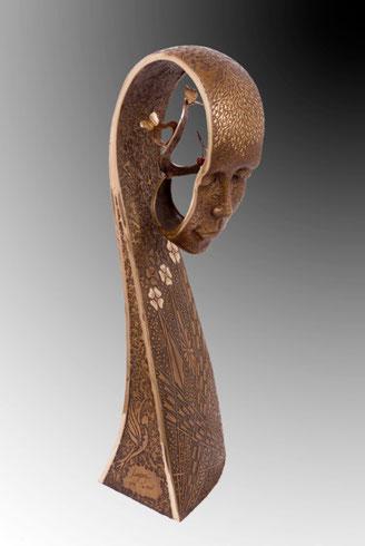La Paix sculpture jean louis landraud