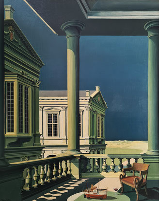 Palace painting by Joop Polder