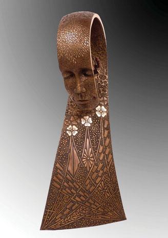 La Paix, bronze sculpture by Jean-Louis Landraud