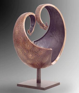 l'Ame du Monde, bronze sculpture Jean-Louis Landraud