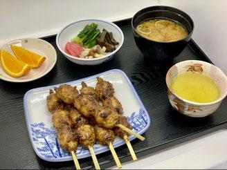 五平餅 定食 900円