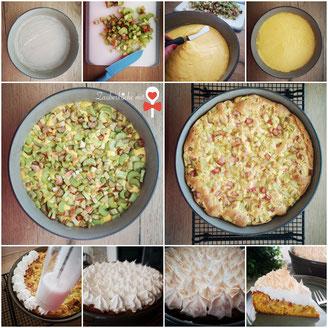 Pampered Chef Rezepte, Rhabarberkuchen