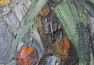 Em Oeliden Tulpen in Vase Detail