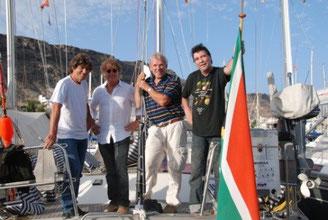 Hans, Jan, Piet en Rob - Kanarische Inseln (08.-15.11.2009)