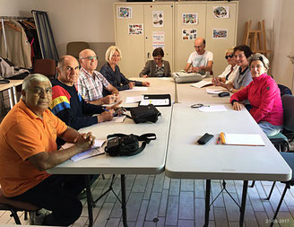 Atelier secourisme du 21-9-17