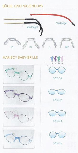 Haribo Kinderbrillen Horn Optik