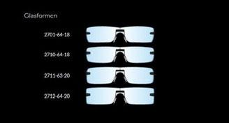 Scope Brillen Horn Optik