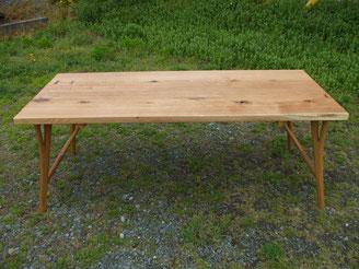木のテーブル ダイニングテーブル 大きいサイズ シンプル