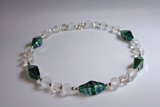 """Smaragd"", Länge 52 cm (verkauft)"