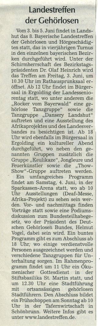 Quelle: Landshuter Zeitung 30.05.2016