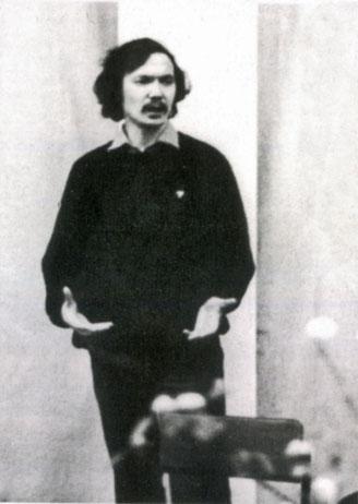 Режиссер Андрей Борисов. 1986 г.