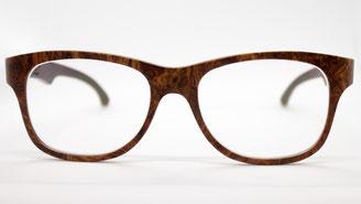 Wurzelholz Brille