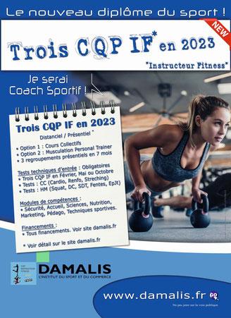 CQP instructeur Fitness