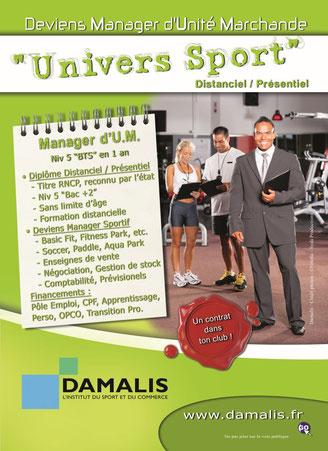 Métiers du Commerce et de la Vente chez Damalis