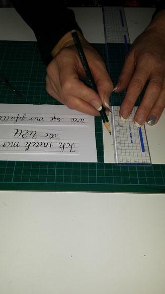 Kalligrafie layouten