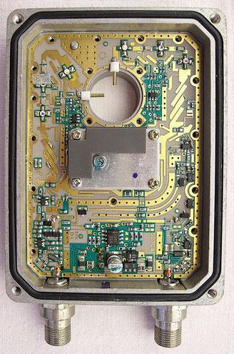 In der Mitte > Die eigendliche Antenne Foto: Wikipedia