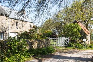 Ortsansicht von Gruchy auf dem Cotentin